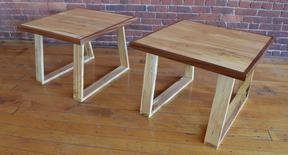 """Trapezoid"" Tables (SOLD!)"