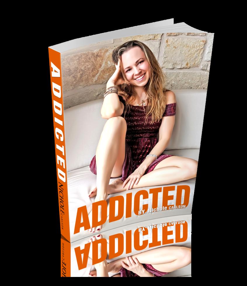 Nichole Carlson, Addiction the book, Adderall