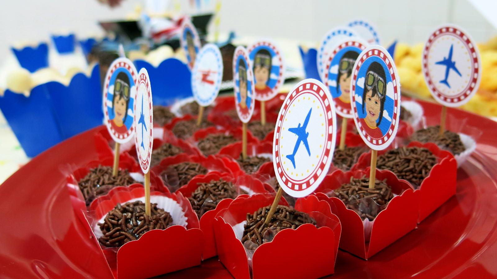 Decoração Personalizada Festa Infantil Aviador