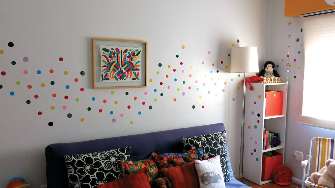 Um jeito fácil e barato de decorar o quarto das crianças