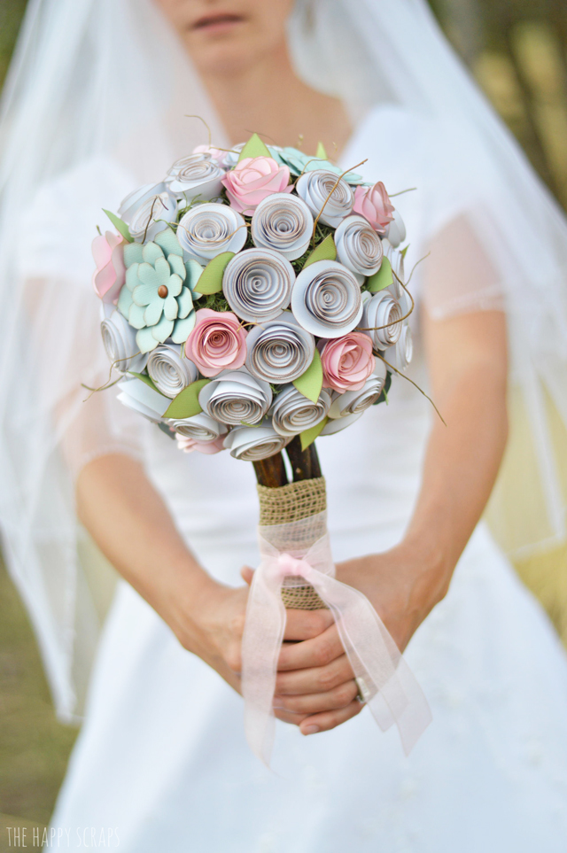 Buquês de casamento inovadores e criativos
