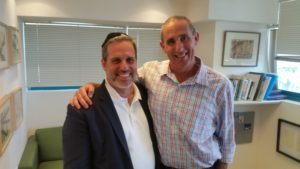 Among the executives with whom Dr. Lewin met is Mazor Robotics CEO Ori Hadomi. Hadomi is a long-time financial and business leader in the medical technology field.