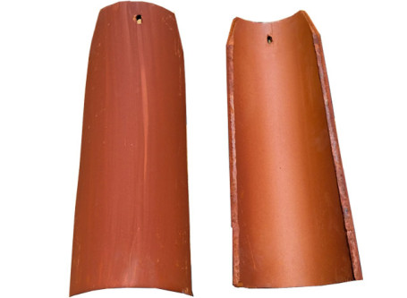 M.C.A. 2 Piece Corona Tapered Mission Roof Tiles