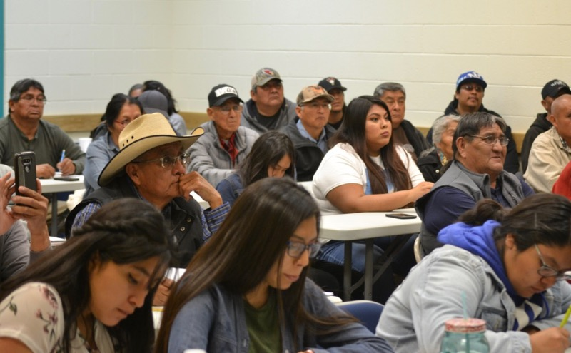 NWAL climate resilience workshop with the Hopi Tribe.
