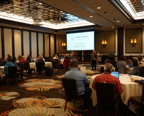 More than 80 people attended the NWAL 2019 Tribal Summit in Reno, NV