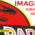 Sublimation looking prints on 100% white polyester using Brother DTG inks