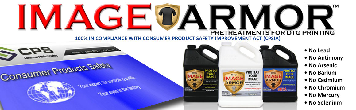 Image Armor Pretreatments and Cleaners
