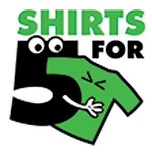 shirtsfor5