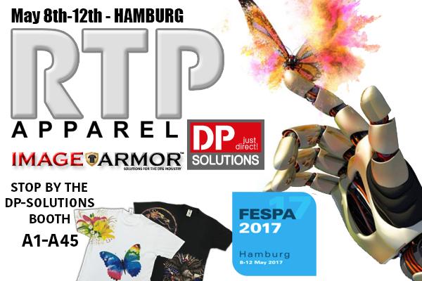 2017 Hamburg FESPA Image Armor RTP Apparel