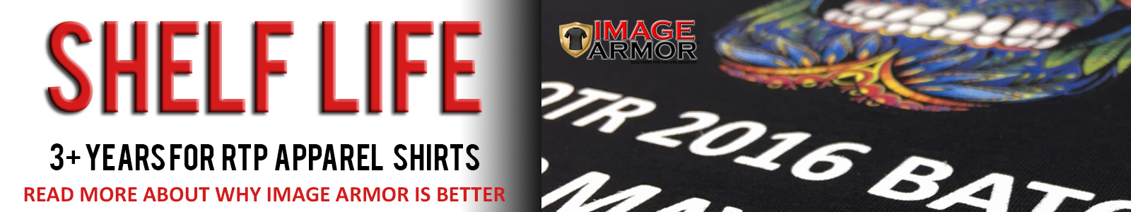 Image Armor RTP Apparel 3 Year Shelf Life