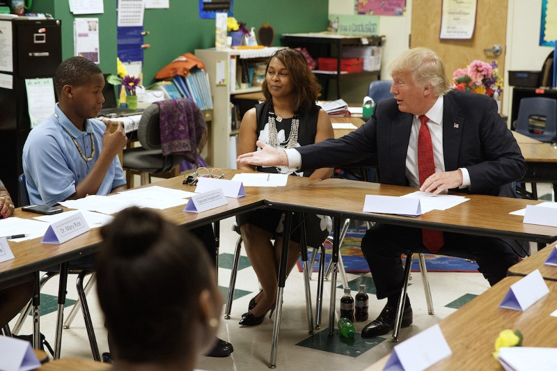 The Conflict Between Donald Trump's Leadership Style and All the Classroom Rules