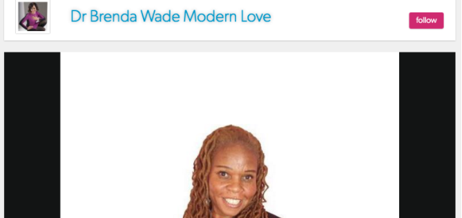 Lynne Maureen Hurdle on Dr. Brenda Wade – Modern Love