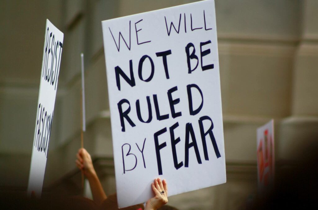 Shifting To The Other Side Of Fear In Conflict