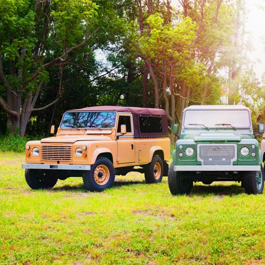 Land Rover Defender Models