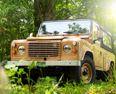 Land Rover Defender Brown