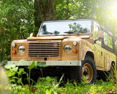 Land Rover Defender Brown