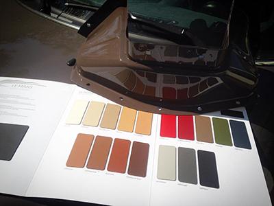 Land Rover Defender Color options