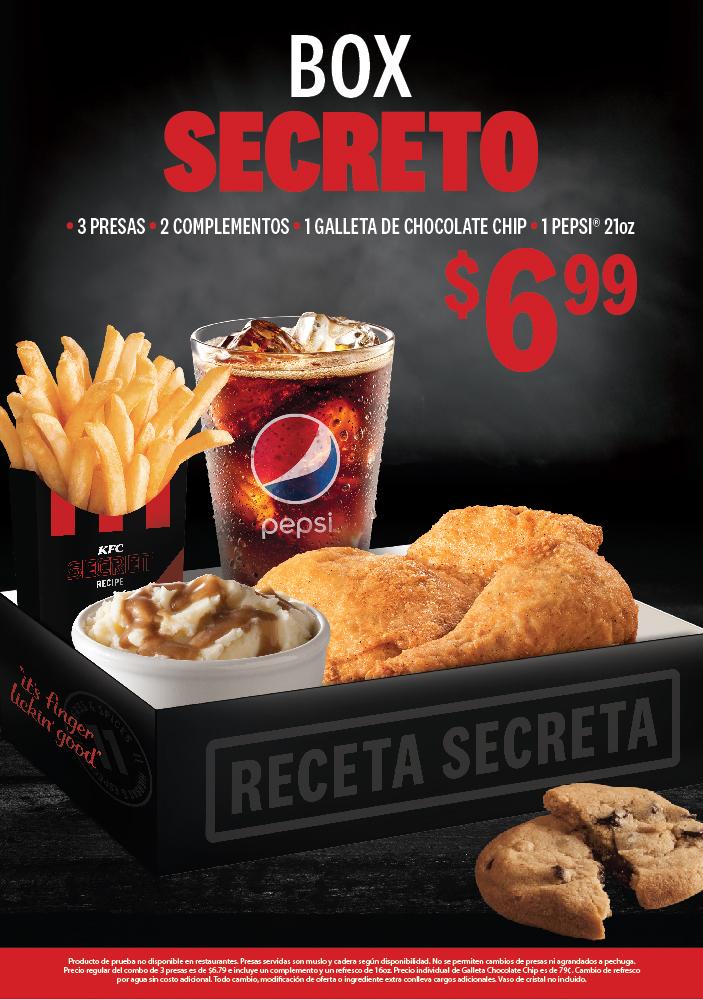 Promoción Box Secreto