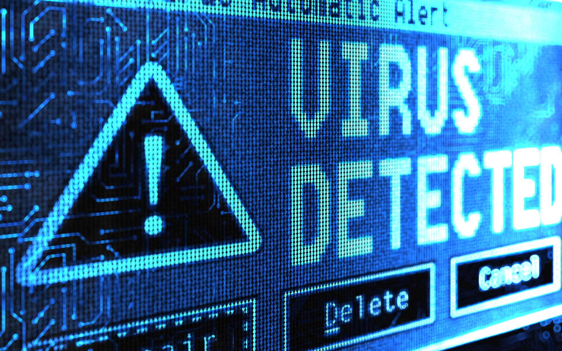 Microsoft windows malware removal image