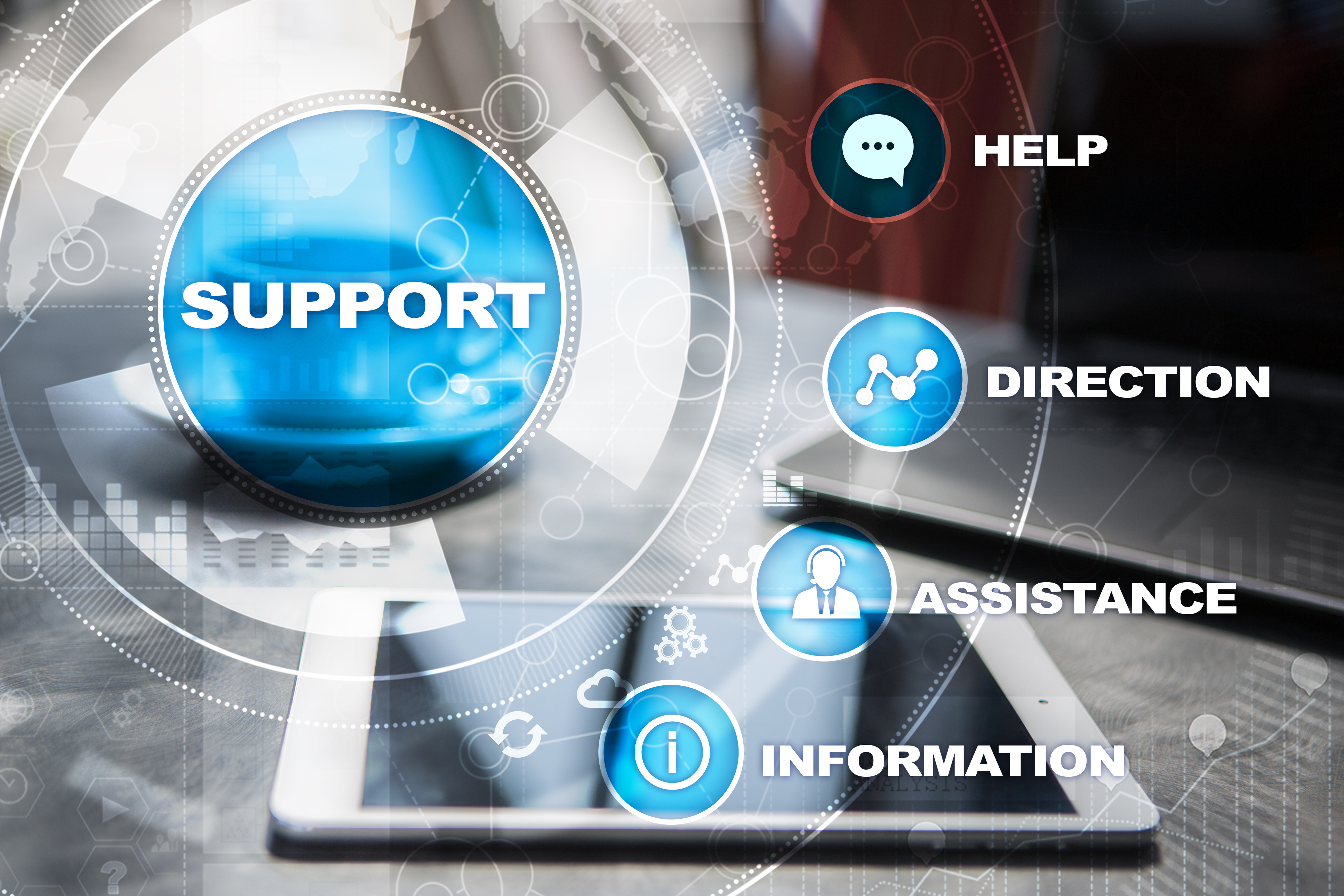 IT outsourcing support
