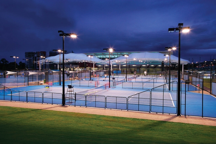Queensland Tennis Courts in Brisbane