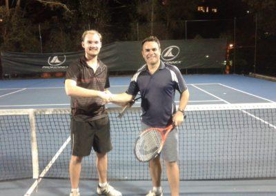 Dean and Greg, Brisbane South Tennis League