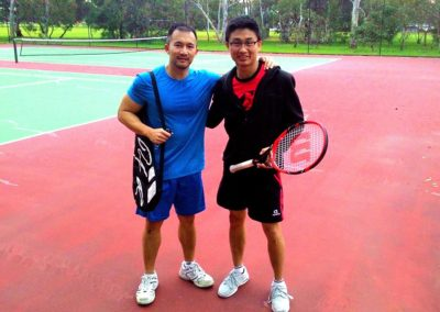 Victor and Chris, Adelaide Tennis League