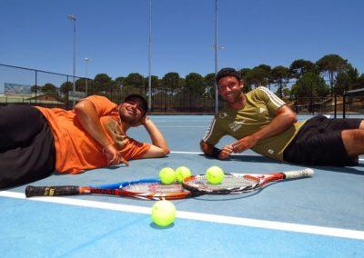 Rahul and Daniel, Perth South Tennis League