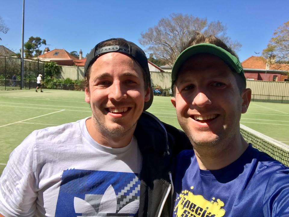 Jamie and Ryan, Sydney Inner West Tennis League
