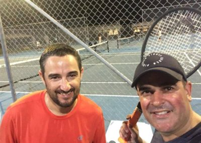 Andrew and Greg, Brisbane South Tennis League