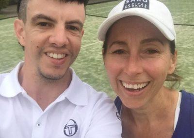Matte and Antonia, Sydney Inner West Tennis League