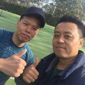 Paul Kang and Joseph Chu