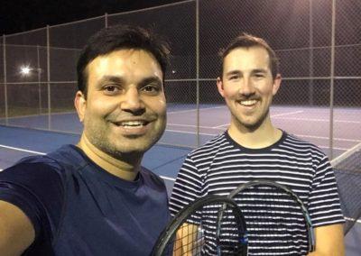 Ati and Tim, Sydney Parramatta Tennis League