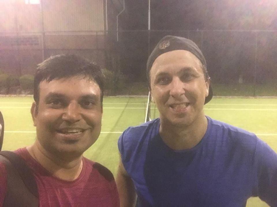 Dean vs Ati - Parramatta Tennis League