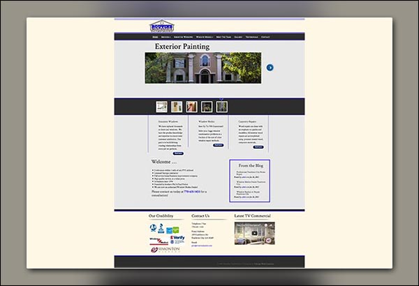 Routine Maintenance Website Design by Vibrant Web Creations in Peachtree City GA