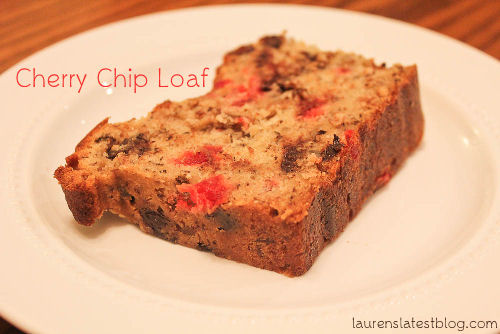 Cherry Chip Loaf Recipe