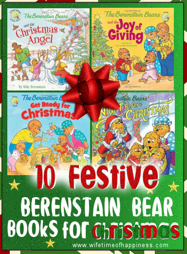 Berenstain Bear Christmas Books