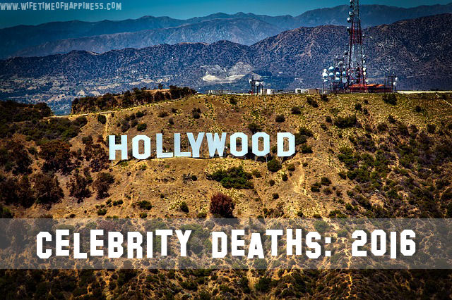 celebrities who died in 2016