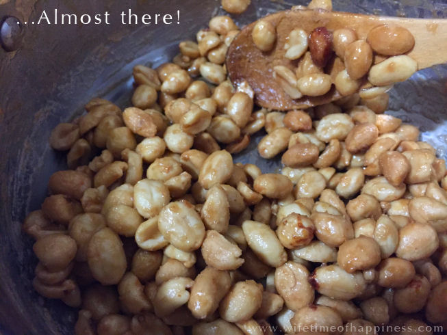 easy candied peanuts