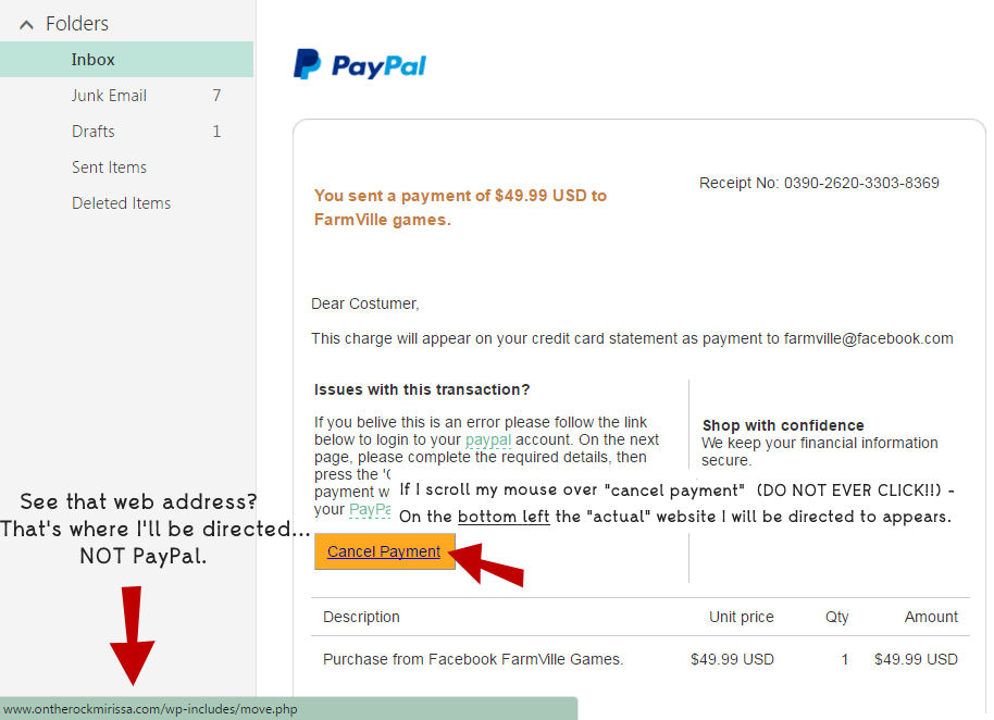fake-faceook-email-from-paypal