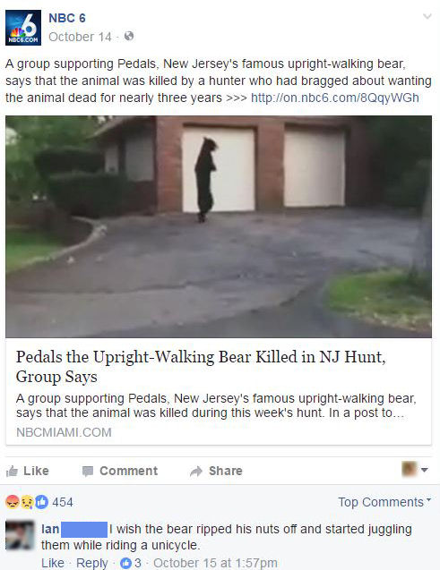 funny facebook comments justice for pedals