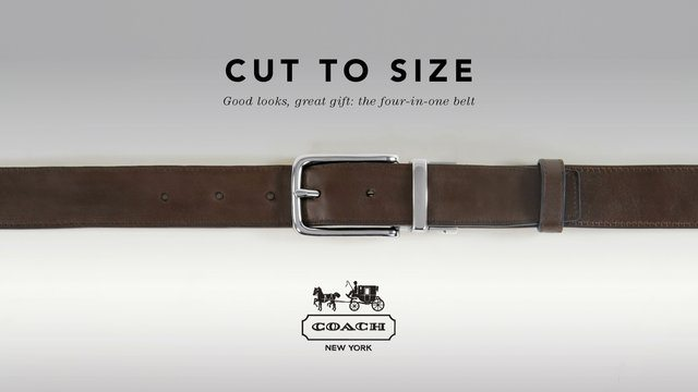 Coach – Cut to Size