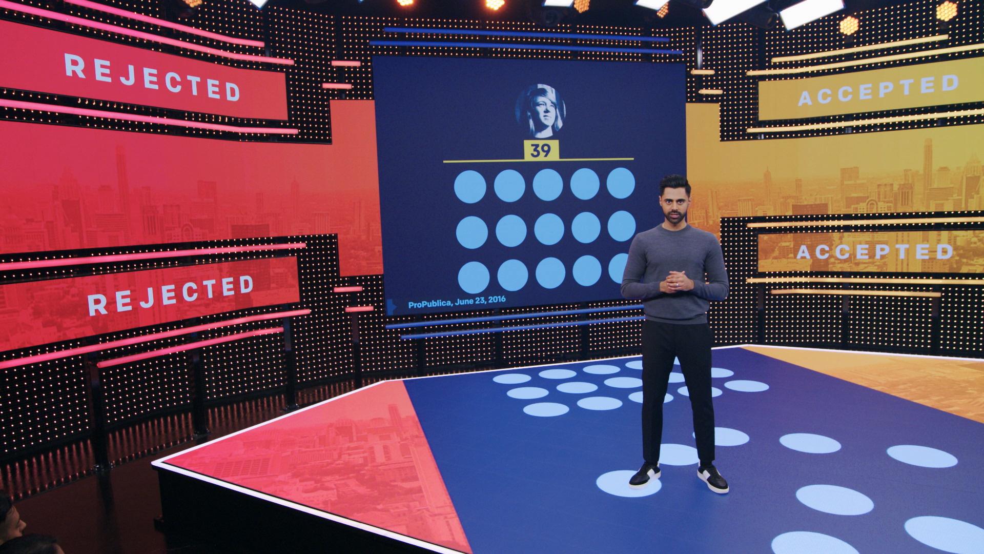 Netflix – Patriot Act with Hasan Minhaj – Featured Work