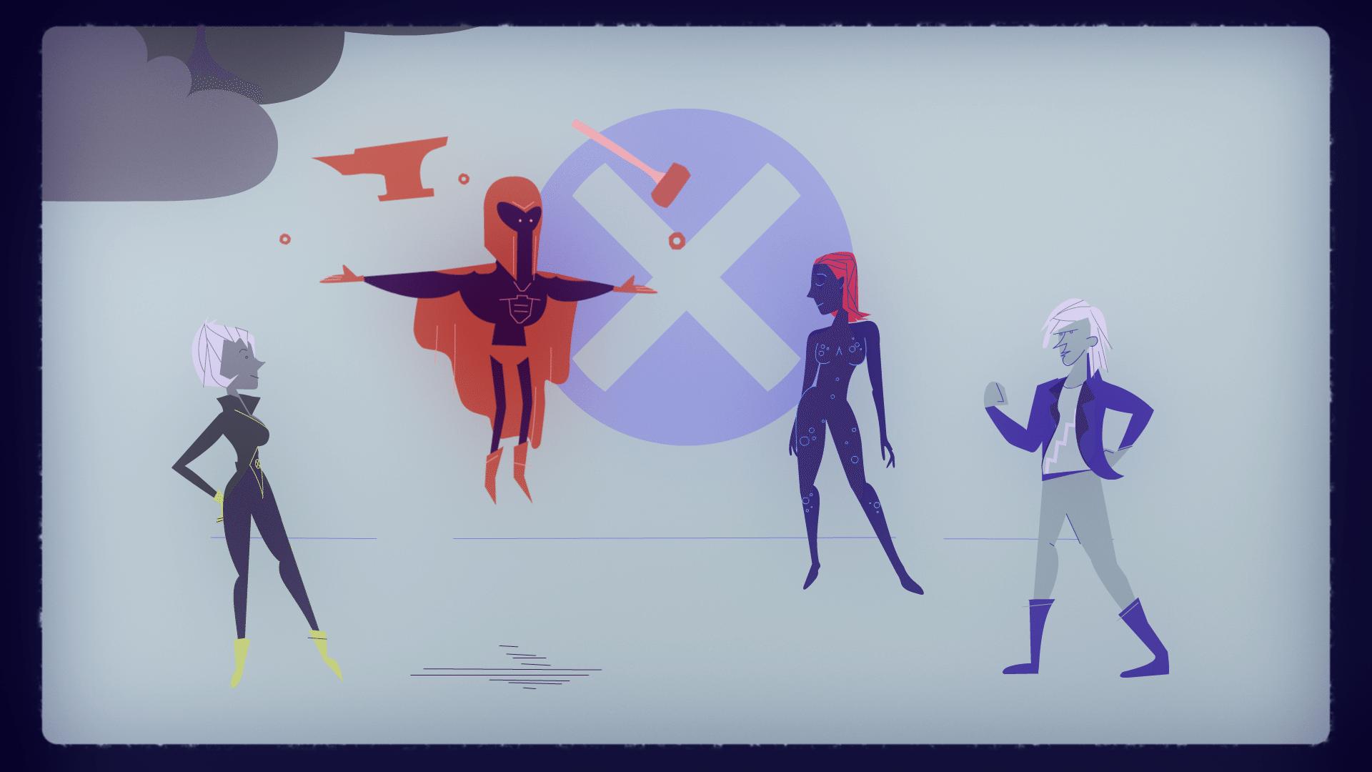 Adult Swim – X-Men: Days of Future Past