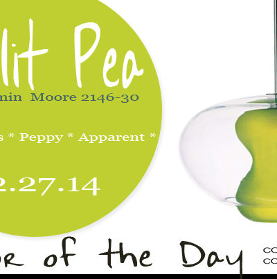 Color of the Day {Split Pea}
