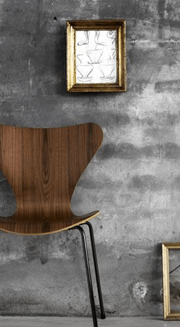 chocolate brown bentwood chair