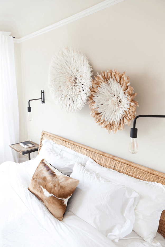 bedroom with camel brown accents pantone butterum