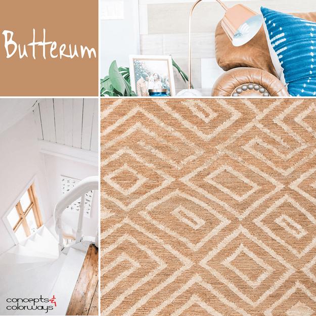 pantone butterum interior color trend
