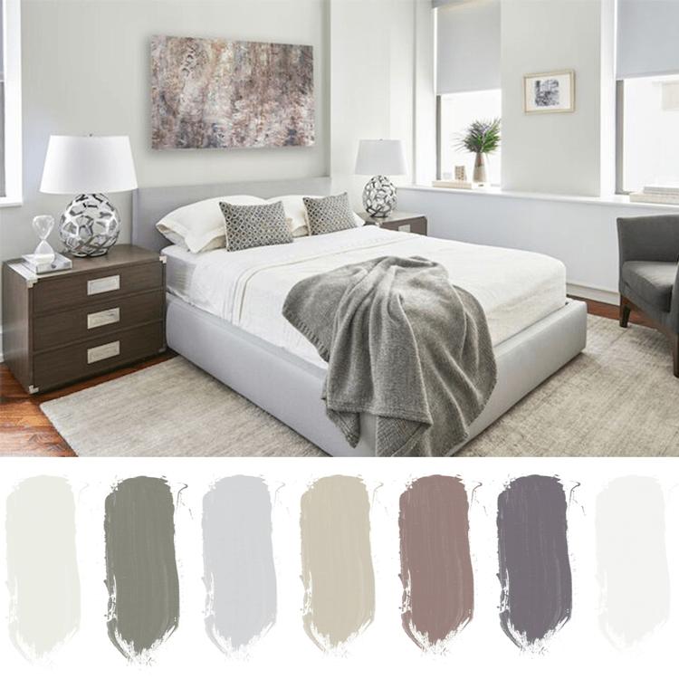 pale green bedroom, sage green blanket, ivory rug, soothing bedroom, restful bedroom ideas, bedroom color palettes