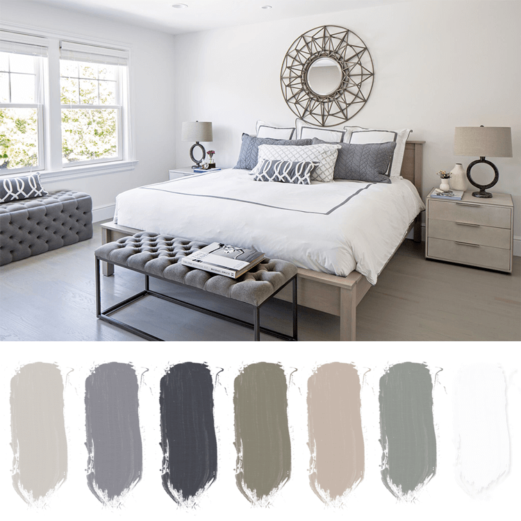 white bedrooms, bedroom color schemes, soothing bedrooms, relaxing bedrooms